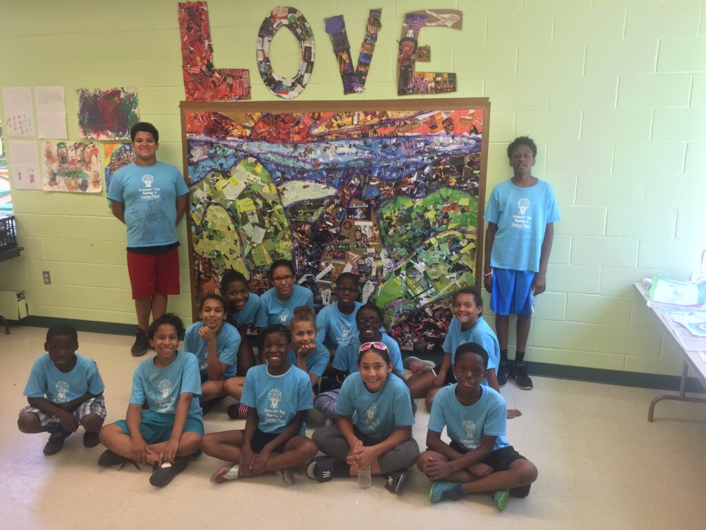 firetree place youth with love collage
