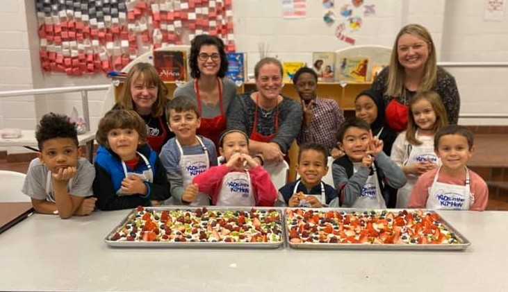 firetree place zone 1 with junior league in the kitchen
